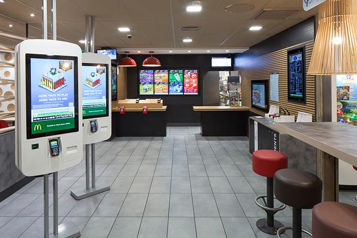 mcdonalds counter and ordering machines kebit lts
